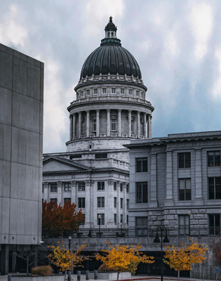 image of the state capital